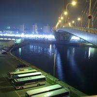 Aomori Bay Bridge (Night View) 青森ベイブリッジ, Аомори