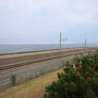 青森駅構内最北のレール終端, Аомори