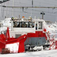 The yard snowplow at Aomori 2005, Аомори