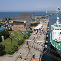 青森港旅客船ターミナル, Гошогавара