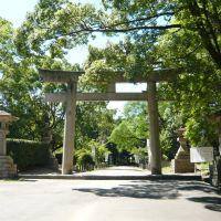 和歌山県護国神社の鳥居 2011.7.15, Вакэйама
