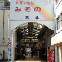 JR和歌山駅前 みその東通, Вакэйама