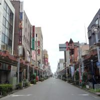 Nagazumicho Street 長住町通り, Гифу