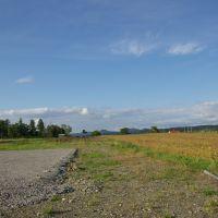 札沼線の五ヶ山駅付近の眺望, Нумата