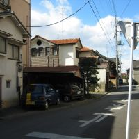 太田市本町 ポンチ西端から三吉医院方向 ota hontyo ponti, Ота
