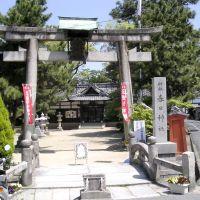 枚方市津田元町1丁目・春日神社, Ибараки