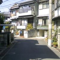 枚方市藤阪元町3丁目の抜け道⑥, Ина