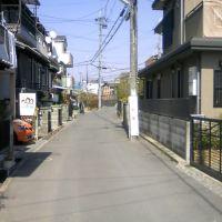 枚方市藤阪元町3丁目の抜け道④, Хитачи