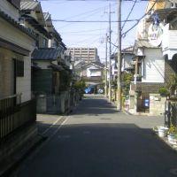 枚方市藤阪元町3丁目の抜け道⑧, Хитачи