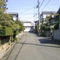 枚方市藤阪元町3丁目の抜け道⑪, Хитачи