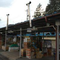 夕方の神子田朝市(11.3.24)Mikoda morning market in the evening, Мориока