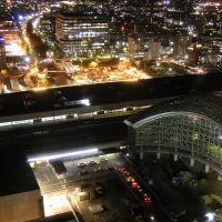2003.10金沢駅夜景, Каназава