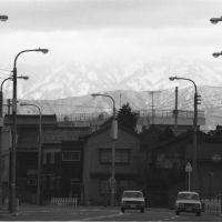 1972.02 片町から大工町池田町方面, Каназава