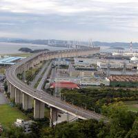 瀬戸大橋, Сакаиде