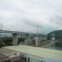 瀬戸大橋線 坂出市付近, Сакаиде