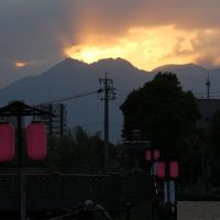 桜島 2014/04/06 06:18, Кагошима