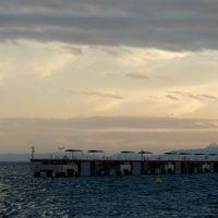 Kinko-wan Bay complete with typhoon tail, Kagoshima, Кагошима