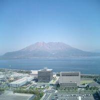 鹿児島県庁 ~ 桜島 Mt.Sakurajima 2003, Кагошима
