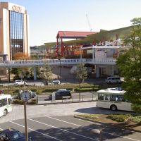 海老名駅前(自由通路から、2008年11月), Ацуги