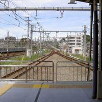 海老名駅相鉄線ホーム先端より, Ацуги