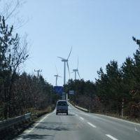 Wind turbines, Йокогама