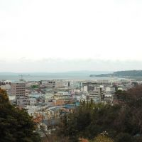 海上自衛隊田戸台分庁舎から東京湾方面(Tokyo Bay from JMSDF Tadidai branch office), Йокосука