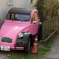 Pink Citroen 2CV, Камакура