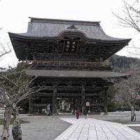 Sanmon (gate). Kenchoji Temple, Kamakura., Камакура