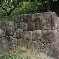 A castle gate trace, Kameoka-jyo Castle, Камеока
