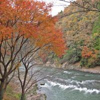 保津川沿岸風光, Камеока