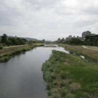 Kamo river 鴨川, Киото