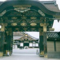 Nijo castle interior gates, Уйи