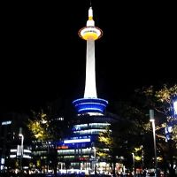 Tháp Kyoto về đêm - Kyoto Tower at night - ngockitty, Уйи