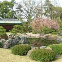Nijo Castle gardens, Уйи