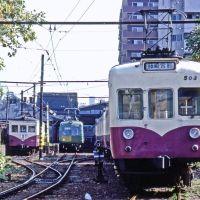 """小さなターミナル(""""Fujisakiguu-mae"""" a small terminal station), Кумамото"""