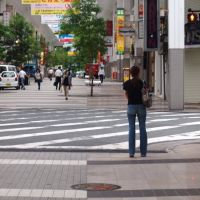 Ginza-Dori street crossing, Кумамото
