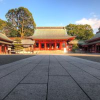 Fujisaki Hachimangu shrine, Минамата