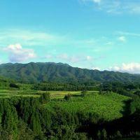 臼杵市野津から大野三重に抜ける道からの風景。, Исе
