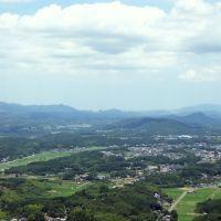 本城山から三重町を, Сузука