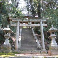 御所市柏原・国見神社, Нагано