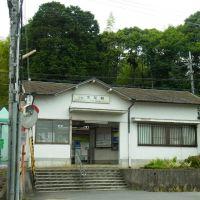 近鉄吉野線 市尾駅 Ichio station 2012.6.14, Нагано