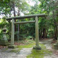 御所市原谷 圀見神社の鳥居 2012.6.14, Нагано