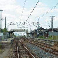 JR和歌山線 掖上駅 Wakigami station 2012.6.14, Нагано