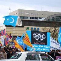 Nagano 長野 free Tibet &east Turkistan, Саку