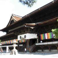 長野県 善光寺 Zenkoji Temple, Nagano, Саку