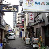 Alley in Nishi Tsuruga 西鶴賀商店街の路地, Сува
