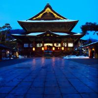 The Zenkoji temple. (長野 善光寺), Сува