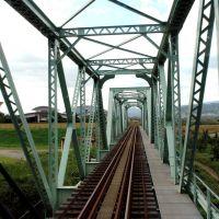 フルーツライン左沢線 長崎鉄橋, Исахая