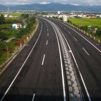 高架からの山形自動車道, Нагасаки