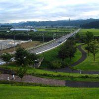 高瀬山古墳の頂より, Нагасаки